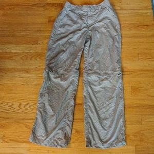 North Face convertable hiking pants, Boys Lg